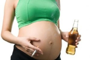 One example of female decision making in pregnancy