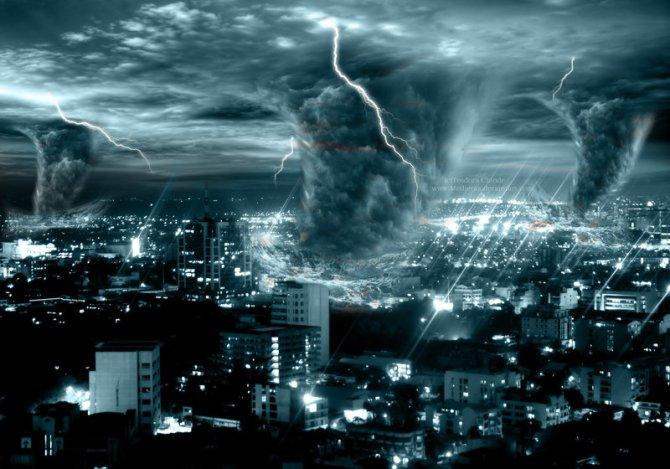 Global Super Storm meltdown??